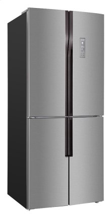 15.3 Cu. Ft. French 4 Door Frost Free Refrigerator / Bottom Mount Freezer