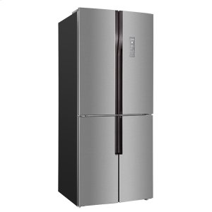 Avanti15.3 Cu. Ft. French 4 Door Frost Free Counter-Depth Refrigerator / Bottom Mount Freezer