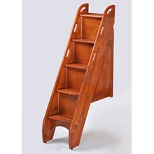 Bunk Bed Stairs in Cherry Finish