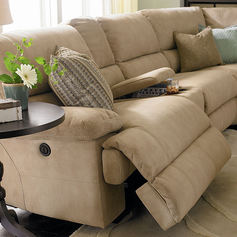 Superbe 3948SECTS In By Bassett Furniture In Houma, LA   Standard Dillon Motion  Sectional
