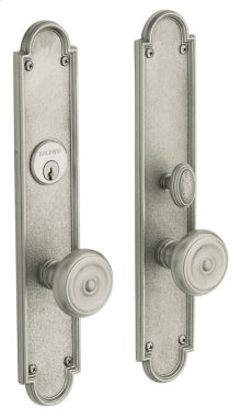 Satin Nickel San Francisco Entrance Trim