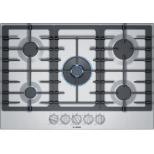 800 Series Gas Cooktop 30'' Stainless steel