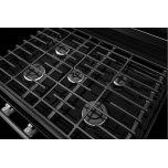 Kitchenaid Kitchenaid® 30-Inch 5-Burner Gas Convection Range - Black