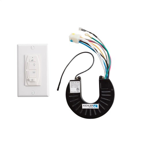6 Speed DC Wall Control System Ivory