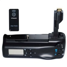 Polaroid Wireless LCD Display Performance Battery Grip For Canon Eos 7D Digital Slr Camera (PL-GR187D)