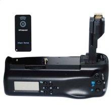 Polaroid Wireless LCD Display Performance Battery Grip For Canon Eos 7D Digital Slr Camera (PL-GR187D)