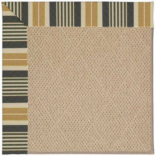 Creative Concepts-Cane Wicker Long Hill Ebony Machine Tufted Rugs