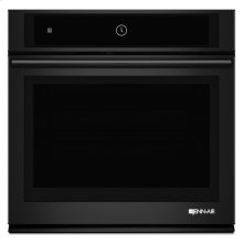 """30"""" Single Wall Oven with MultiMode® Convection System, Black Floating Glass"""