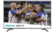 "55"" class R7 series - Hisense 2018 Model Roku TV 55"" class R7E (54.6"" diag.) 4K UHD Roku TV with HDR"