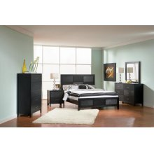 Grove Transitional King Four-piece Bedroom Set