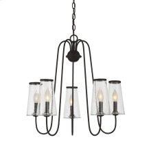 Oleander 5 Light Outdoor Chandelier