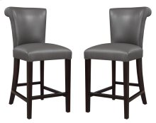"Emerald Home Briar III 24"" Bar Stool Gunmetal Gray D109-24-13"