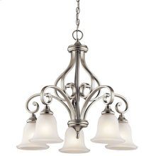 Monroe Collection Monroe 5 light Chandelier NI