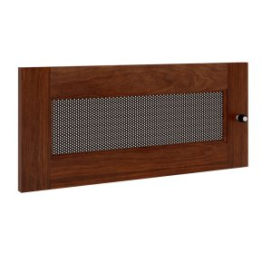 Salamander DesignsSynergy S10 Door, Walnut with Perforated Steel Insert