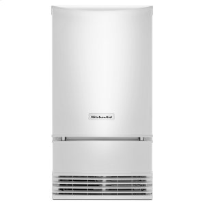 KitchenAid® 18'' Automatic Ice Maker - White - WHITE