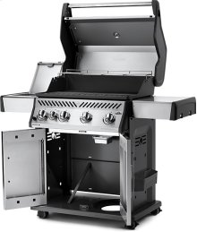 Rogue ® 525 SIB Stainless Steel with Infrared Side Burner