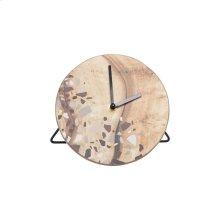Terrazzo Clock