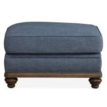 Accent Ottoman - (Haven Ocean)