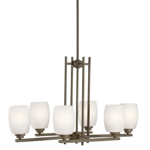 Eileen 6 Light Chandelier Olde Bronze®