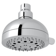 "Polished Chrome 4"" Rovato Multi-Function Showerhead"