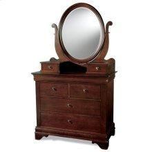 Oval Dressing Mirror