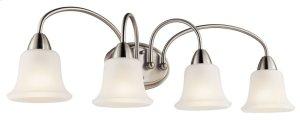 Nicholson 4 Light Vanity Light Brushed Nickel