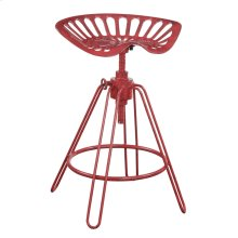 24'' Barstool-red Finish 2/ctn