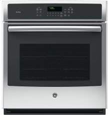 """GE Profile™ Series 27"""" Built-In Single Convection Wall Oven"""