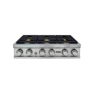 "Dacor36"" Rangetop, Stainless Steel, Liquid Propane"
