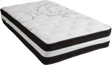 Capri Comfortable Sleep 12 Inch Foam and Pocket Spring Mattress, Twin in a Box