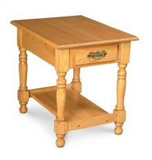 Virginia 1-Drawer End Table