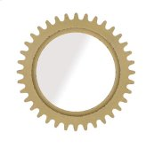 Epicenters Williamsburg Round Mirror - Yellow