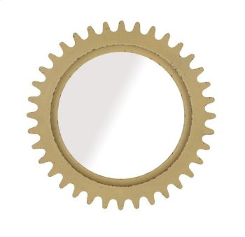 Epicenters Williamsburg Round Mirror - Yellow Product Image
