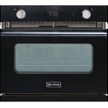 "Glossy Black 30"" Verona Gas Wall Oven"