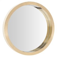 Julia Wall Mirror  Gold
