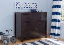 3 Drawer Dresser - Dark Chocolate (207)