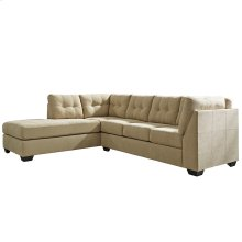 Benchcraft Maier Sectional with Left Side Facing Chaise in Cocoa Microfiber [FBC-2349LFSEC-COA-GG]