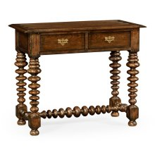 Bobbin Turned Walnut Side Table