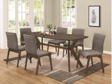 7 Piece Dining Set (Table and 6 Chairs)