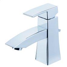 Chrome Logan Square 1H Lavatory Faucet Single Hole Mount w/ 50/50 Pop-Up Drain 1.2gpm
