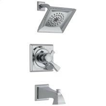 Chrome Monitor ® 17 Series Tub & Shower Trim