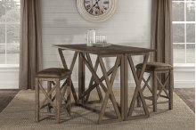 Willow Bend Flip Top Dining - 3pc Set