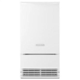 KitchenAid(R) 18'' Automatic Ice Maker - White