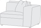 Como Right Arm Chair Product Image