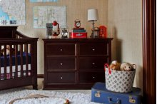 Espresso Foothill-Louis 6-Drawer Dresser