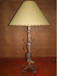 Metal Lamp With Boot