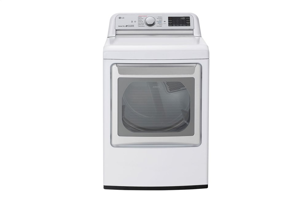 7.3 cu.ft. Smart wi-fi Enabled Electric Dryer with TurboSteam™ Photo #1