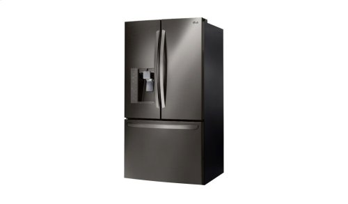 LG Black Stainless Steel Series 24 cu. ft. Counter-Depth 3-Door French Door Refrigerator