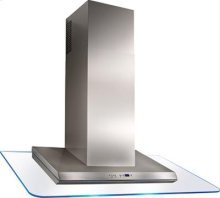 """48"""" Stainless Steel Range Hood with External Blower Options"""