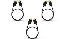 VIZIO High-Speed HDMI ® Cables ™ 3 Pack (4ft, 8ft & 8ft)